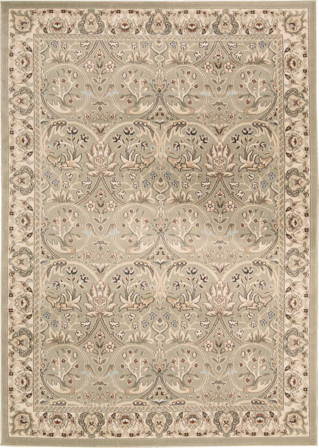 Nourison Walden WAL03 Light Green Rug