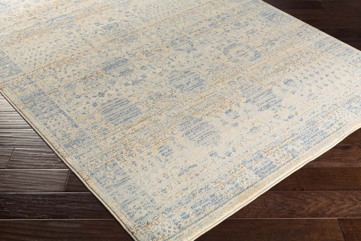 Artistic Weavers Whitman WHM-8802 Serenity Denim Blue Beige Rug
