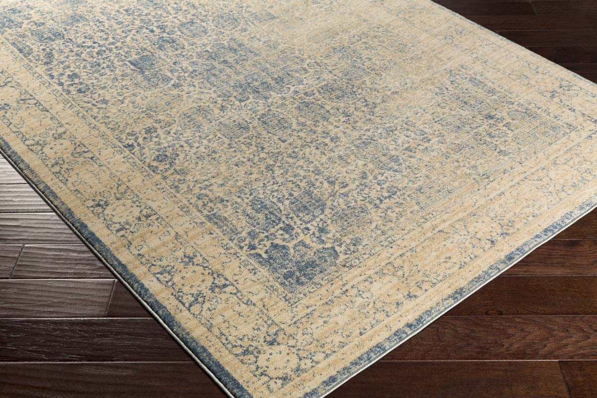 Artistic Weavers Whitman WHM-8803 Kinsley Navy Blue Tan Rug