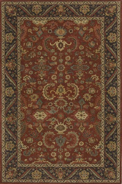 Zarin ZR-06 Pomegranate Rug by Momeni
