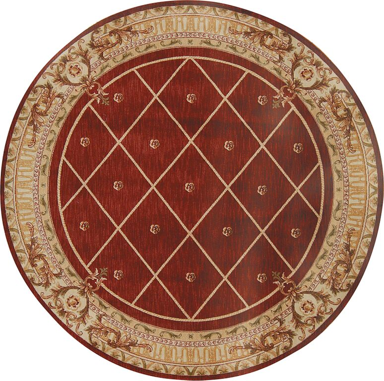 Round Ashton House AS03 Sienna Rug by Nourison