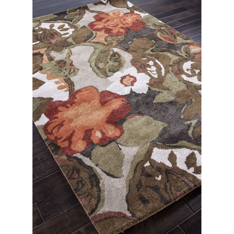 Blue Petal Pusher BL-12 Rug by Jaipur