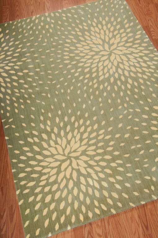 Capri CAP-2 Light Green Rug by Nourison
