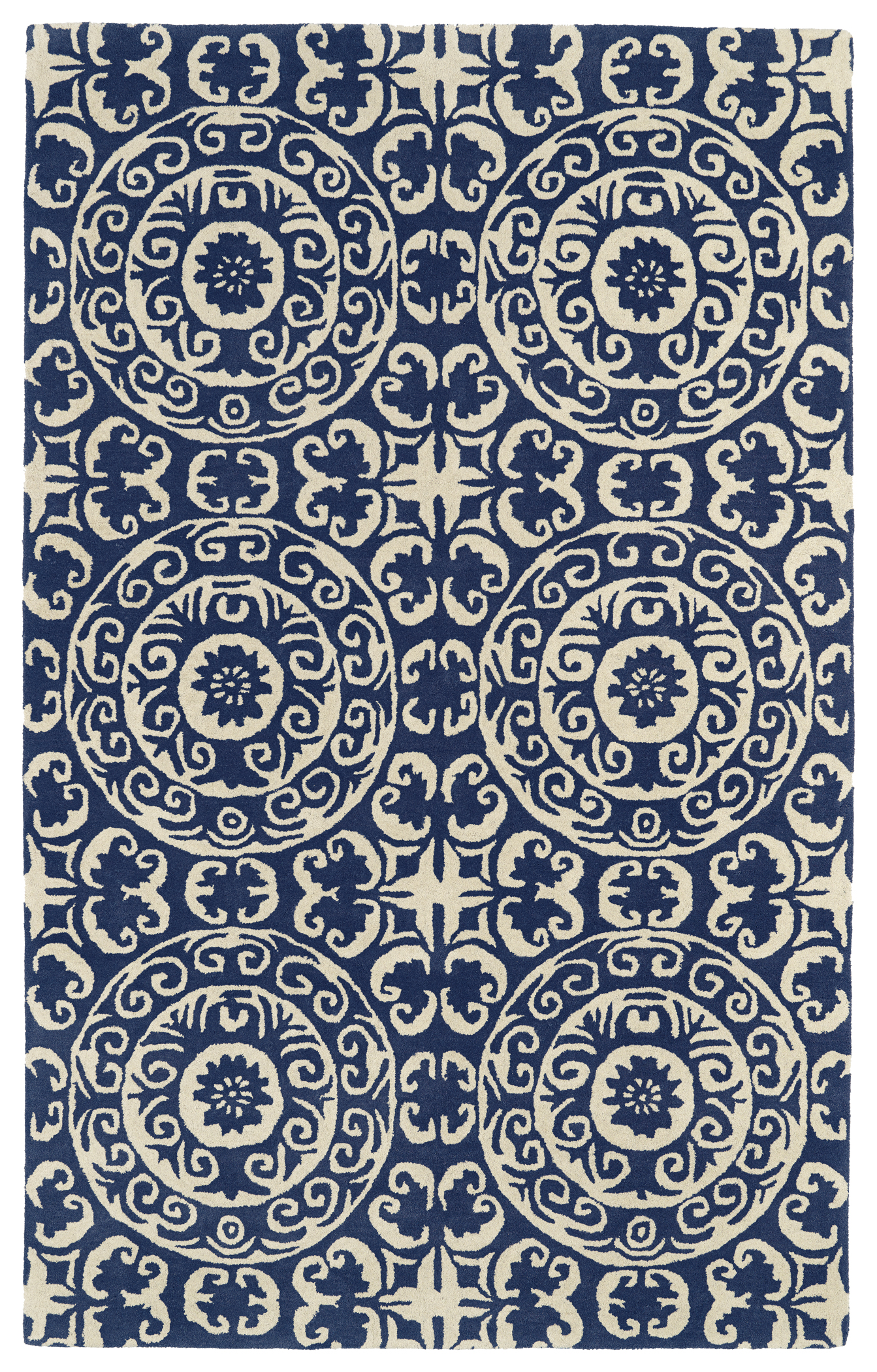 Kaleen Evolution EVL03 22 Navy Rug