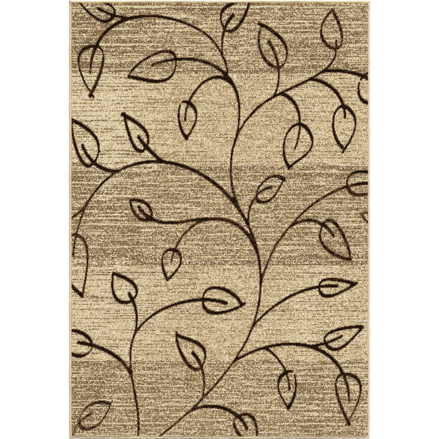 Orian Four Seasons Kingwood Driftwood Outdoor Rug
