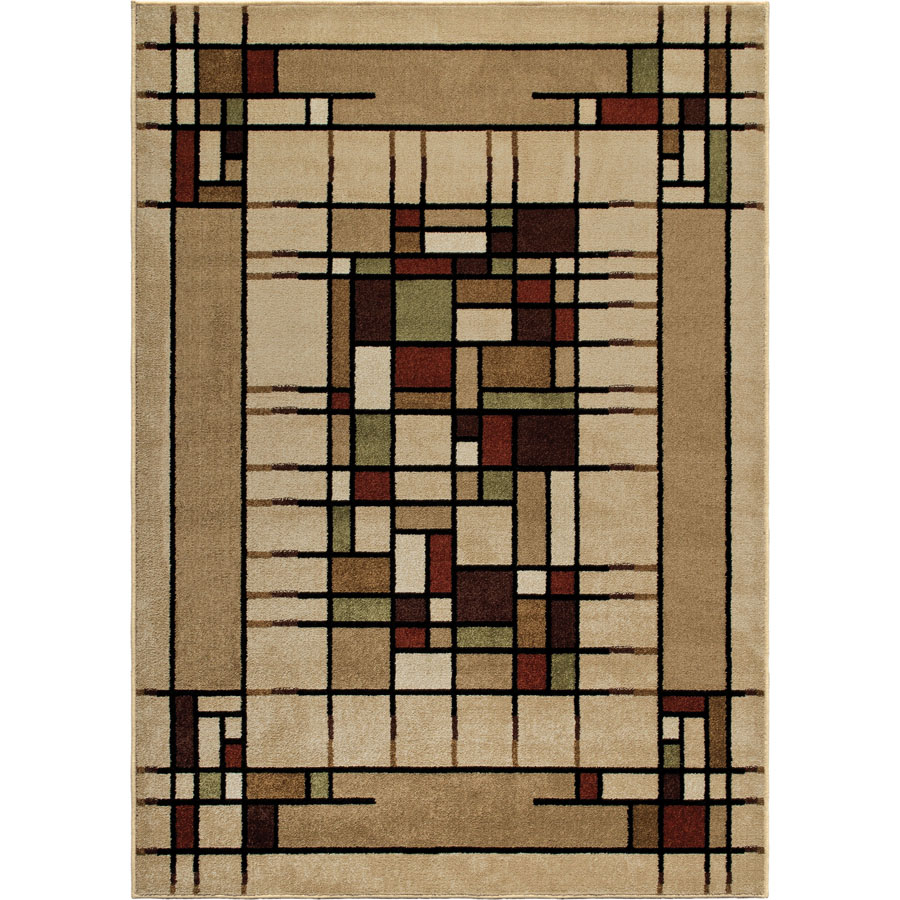 Orian Four Seasons Eldridge Multi Outdoor Rug