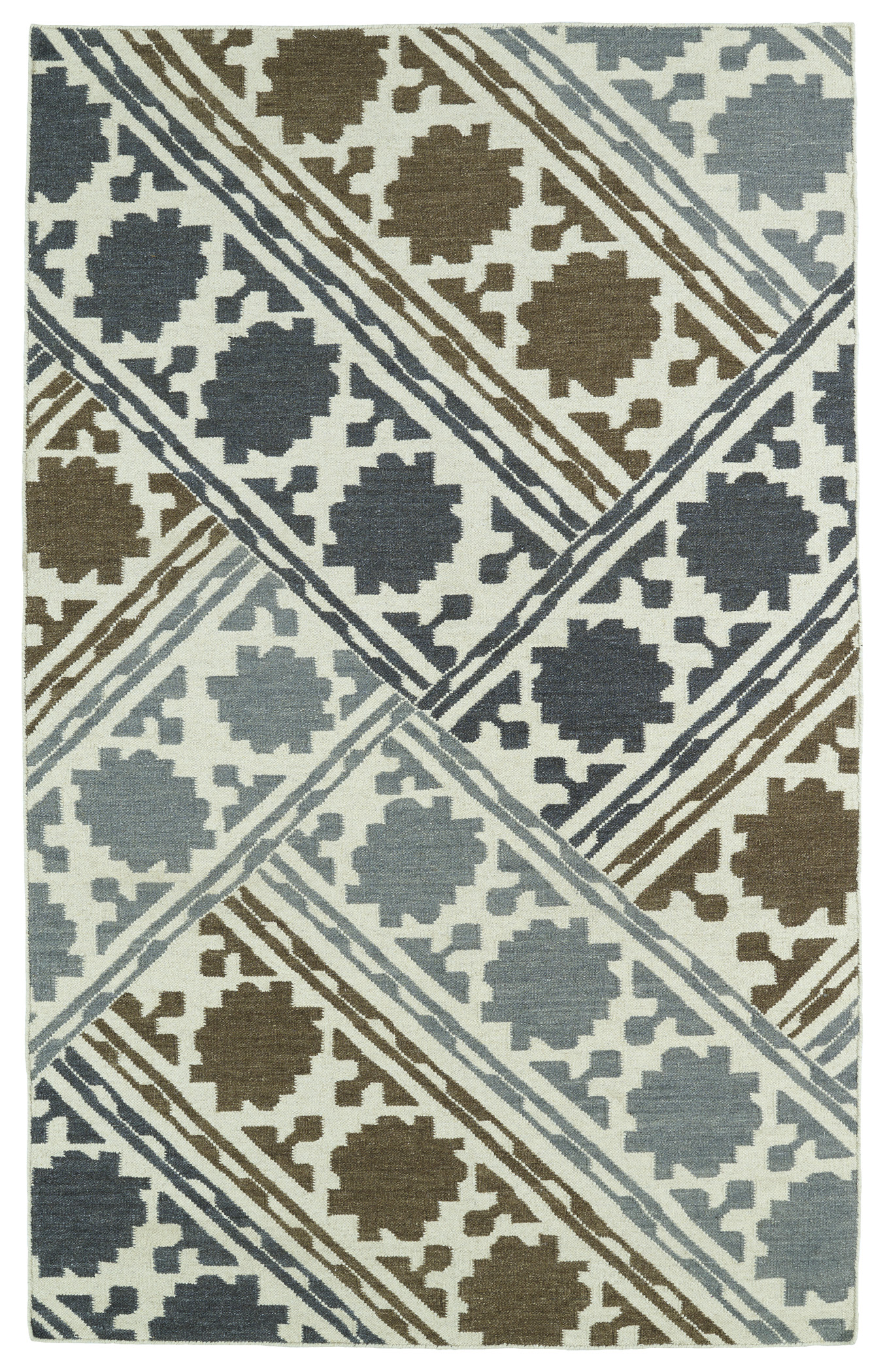 Kaleen Glam GLA02 49 Brown Area Rug