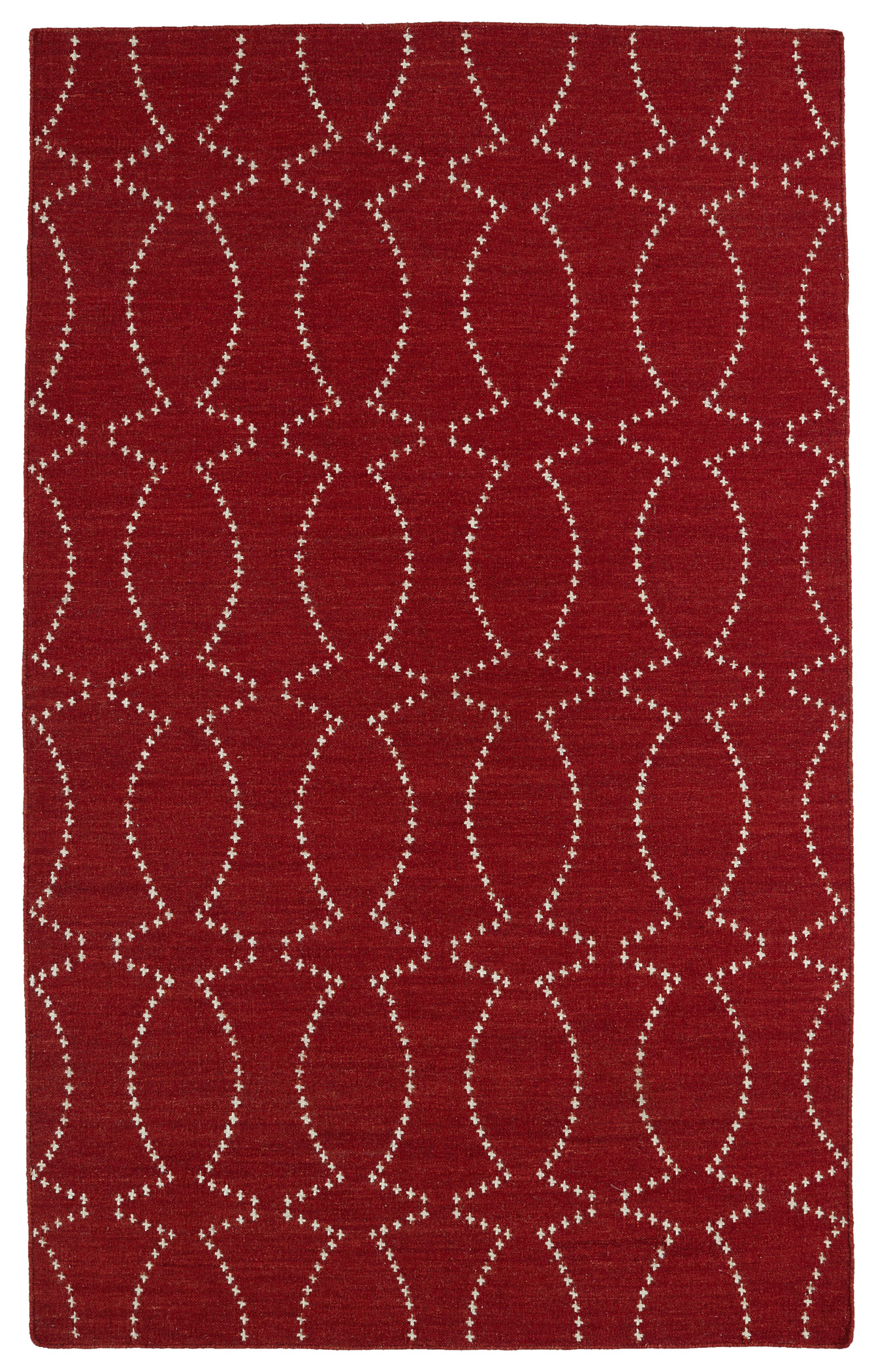 Kaleen Glam GLA07 25 Red Area Rug