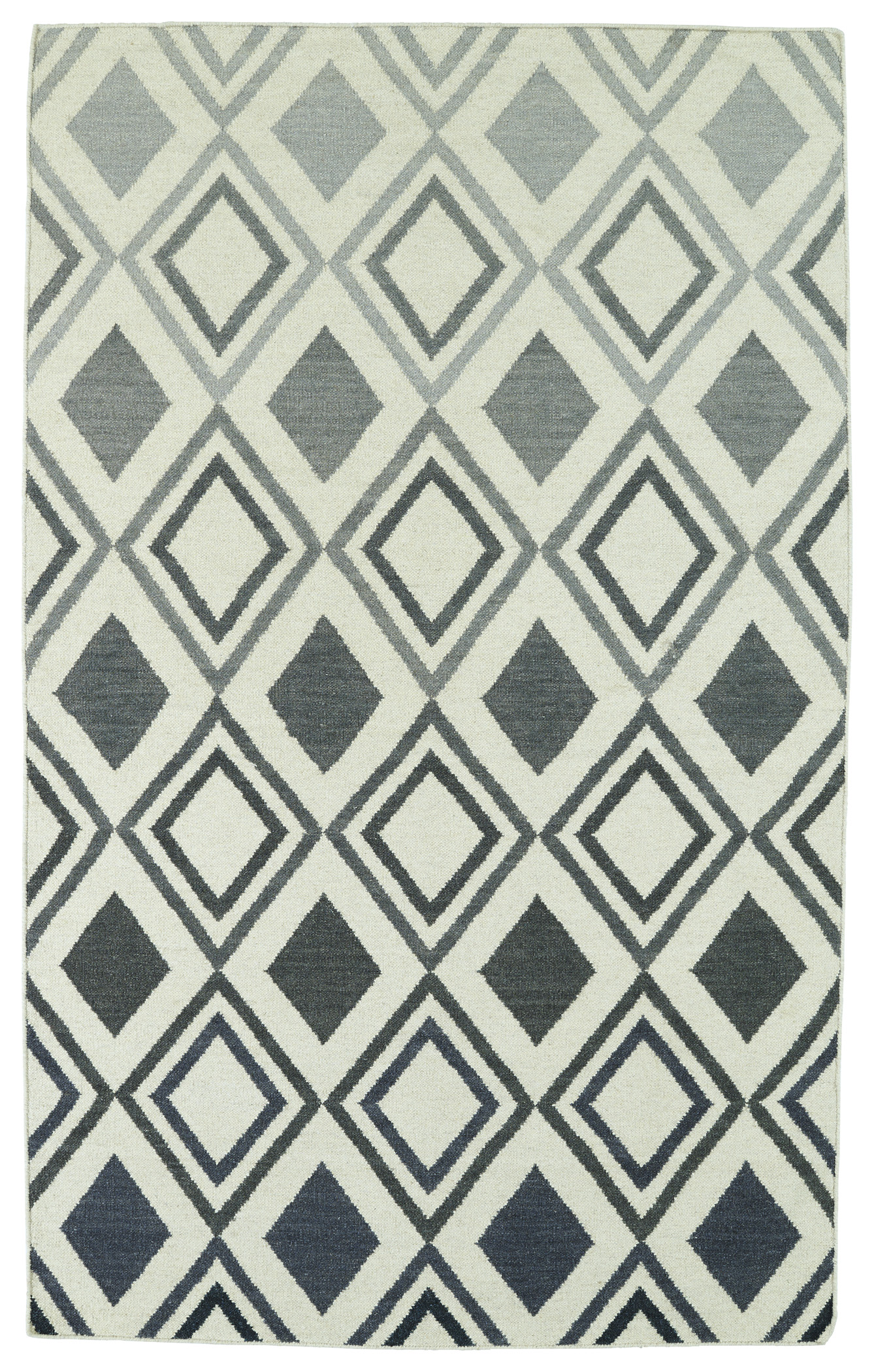 Kaleen Glam GLA09 75 Grey Area Rug