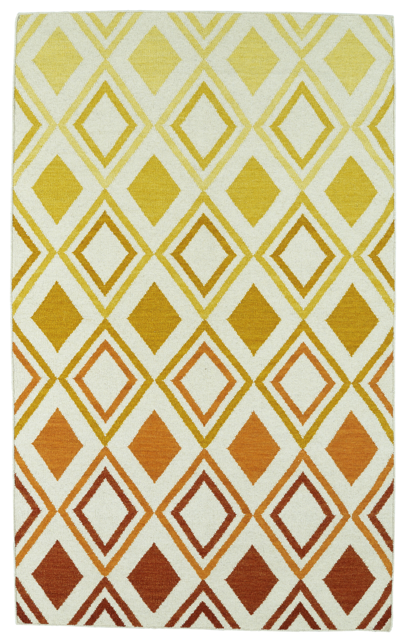 Kaleen Glam GLA09 89 Orange Area Rug