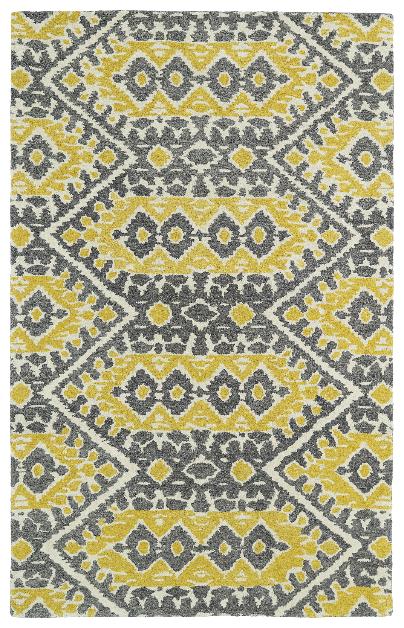 Kaleen Global Inspirations GLB01 28 Yellow Area Rug