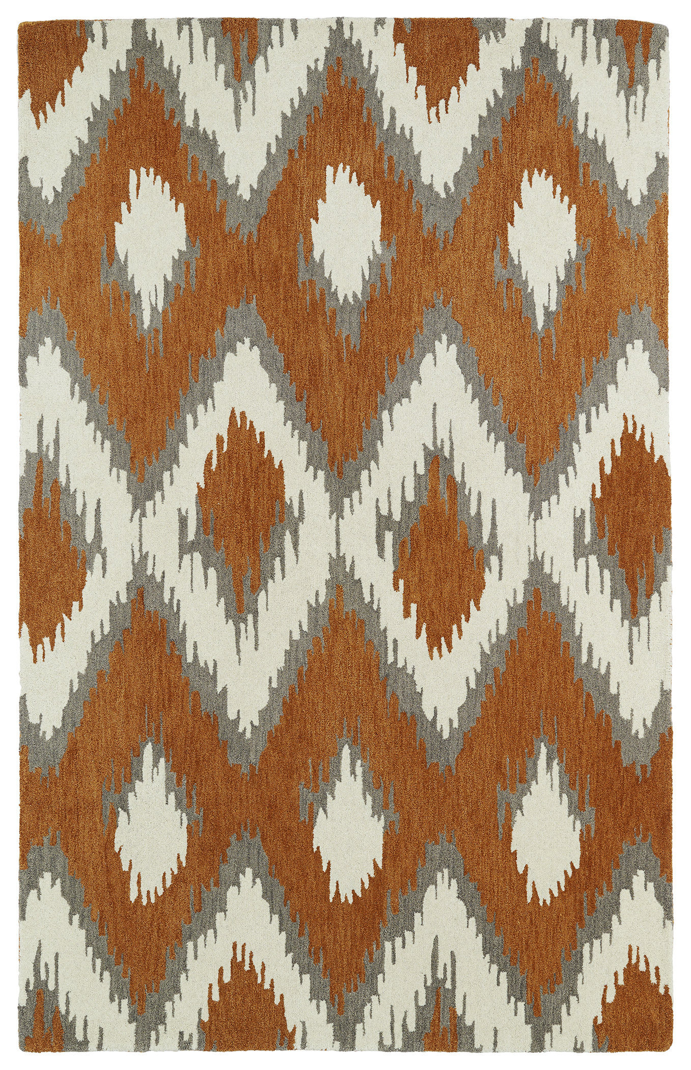 Kaleen Global Inspirations GLB10 53 Paprika Area Rug