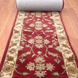 Hamburg Wool - 26 Inch Wide Finished Runner - Price is Per Foot