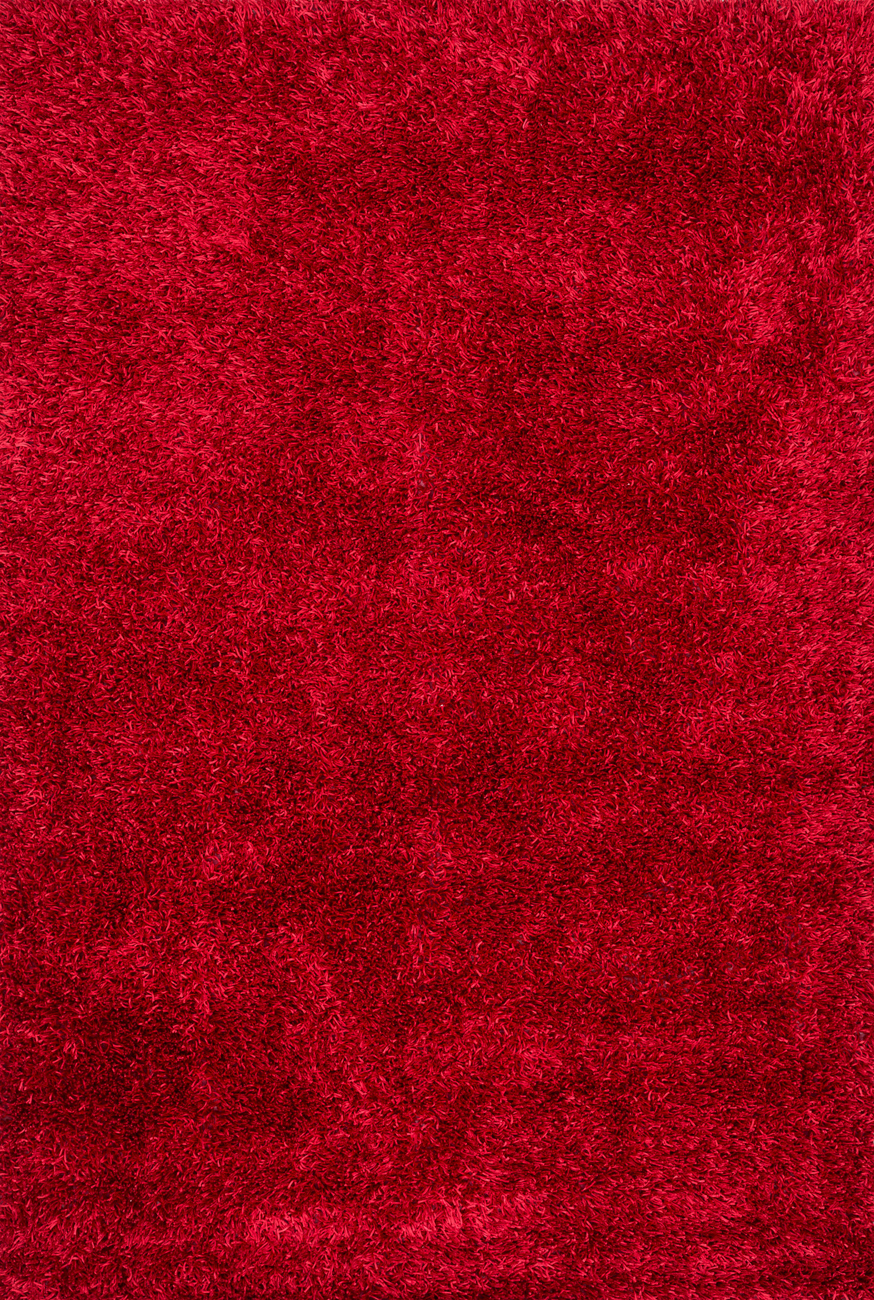 Carrera Shag CG-01 Red Rug by Loloi