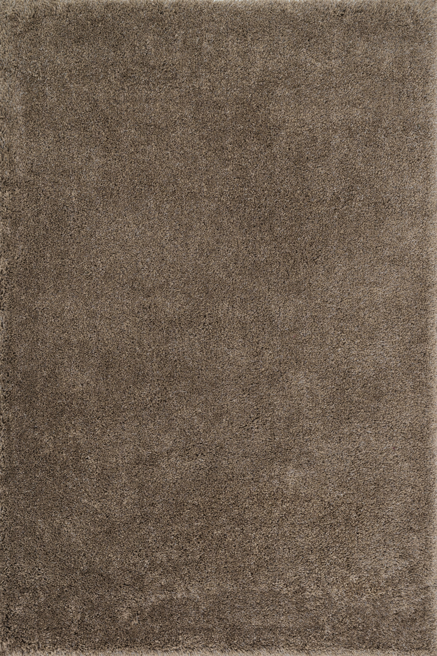 Cozy Shag CZ-01 Taupe Rug by Loloi