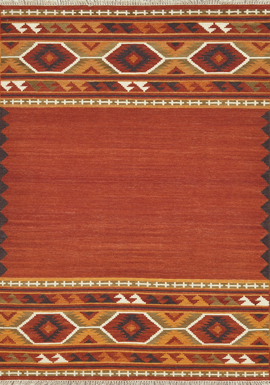 Loloi Isara IA-01 Red Gold Rug