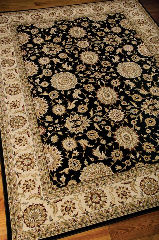 Nourison Persian Crown PC02 Black Rug