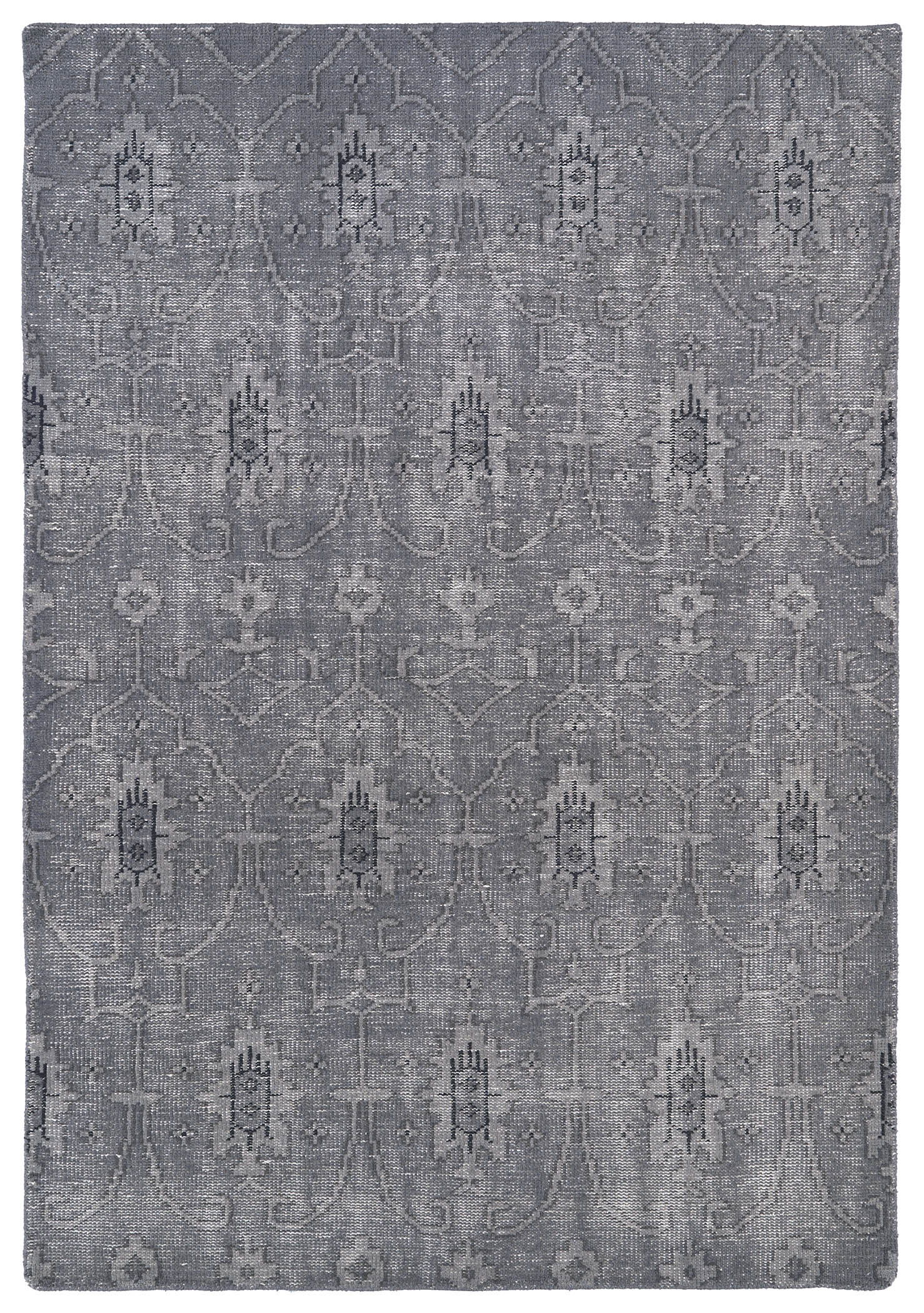 Kaleen Restoration RES01 75 Grey Rug