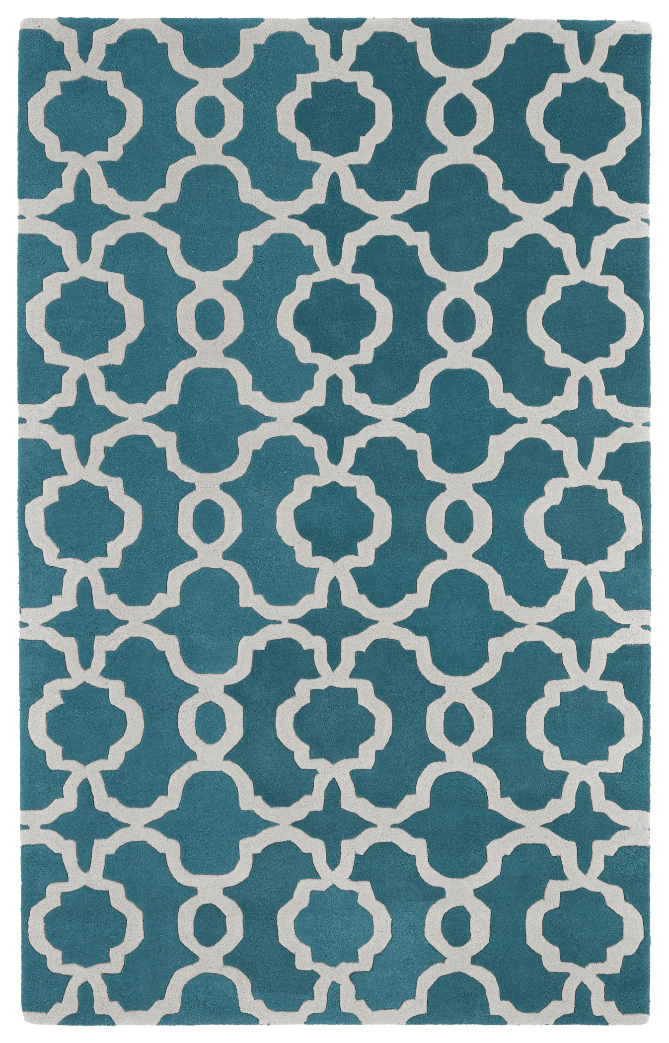 Kaleen Revolution REV03 91 Teal Rug