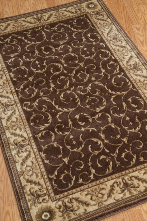 Somerset ST02 Brown Rug by Nourison