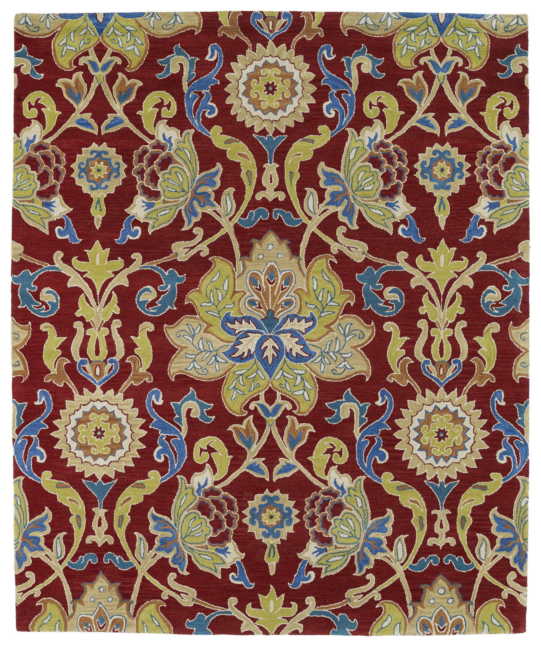Kaleen Taj TAJ02 25 Red Area Rug