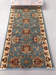 Eternity 3606 Blue Stair Runner