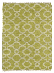 Kaleen Kenwood KEN07 96 Lime Green Area Rug