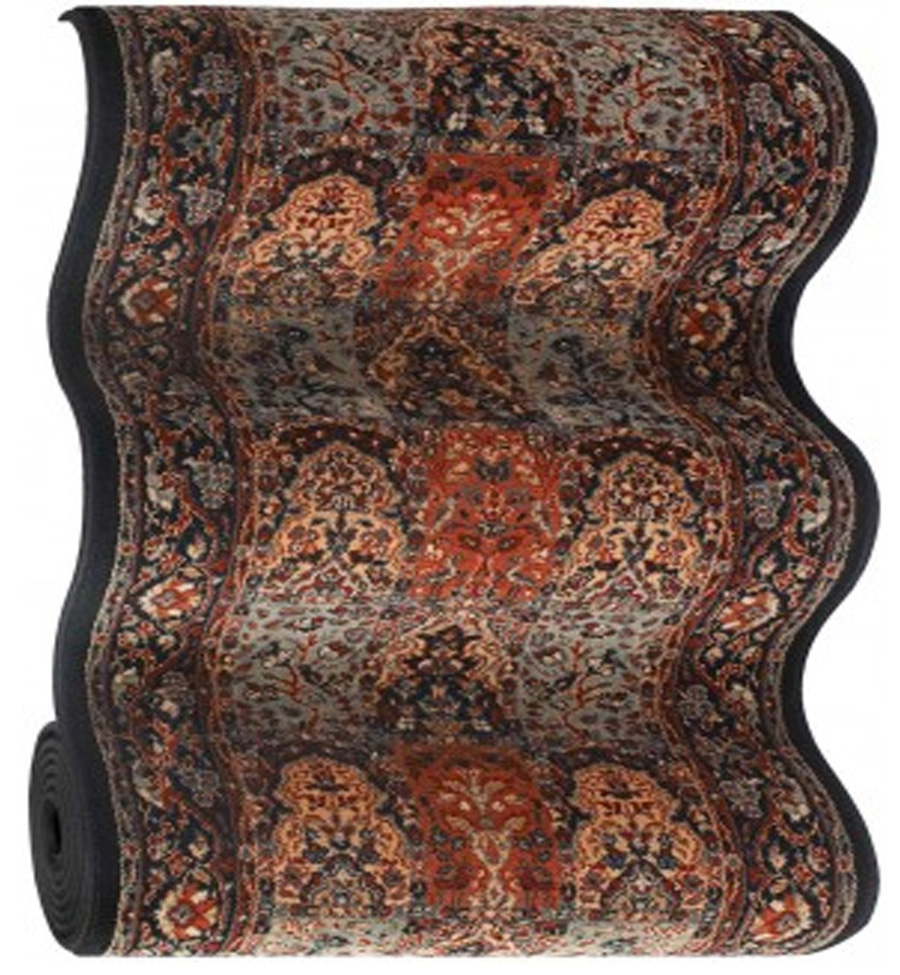 Timeless Treasures Vintage Baktiari 4325/0500a Ebony Hallway and Stair Runner