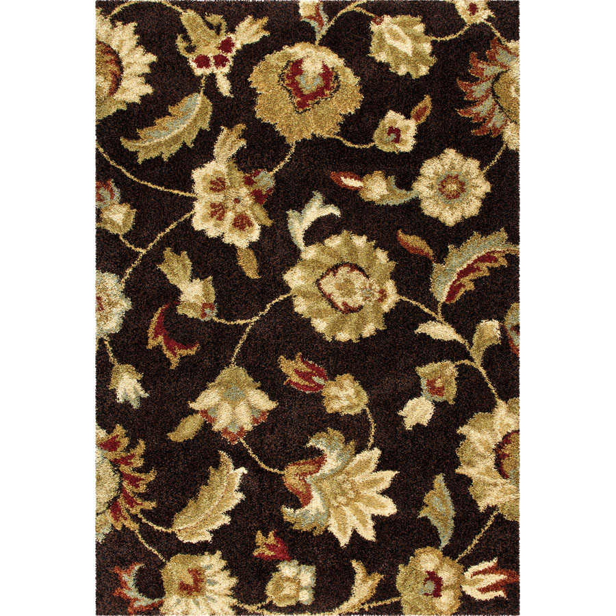 Orian Wild Weave London Brown Rug