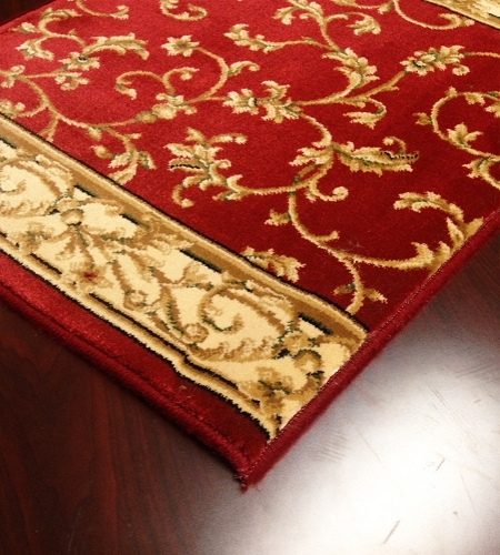 Radiance 2034KW Crimson Wheat Carpet Stair Runner