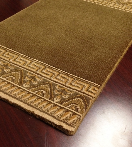 Royal Garden 920 Olive Carpet Hallway and Stair Runner - 30