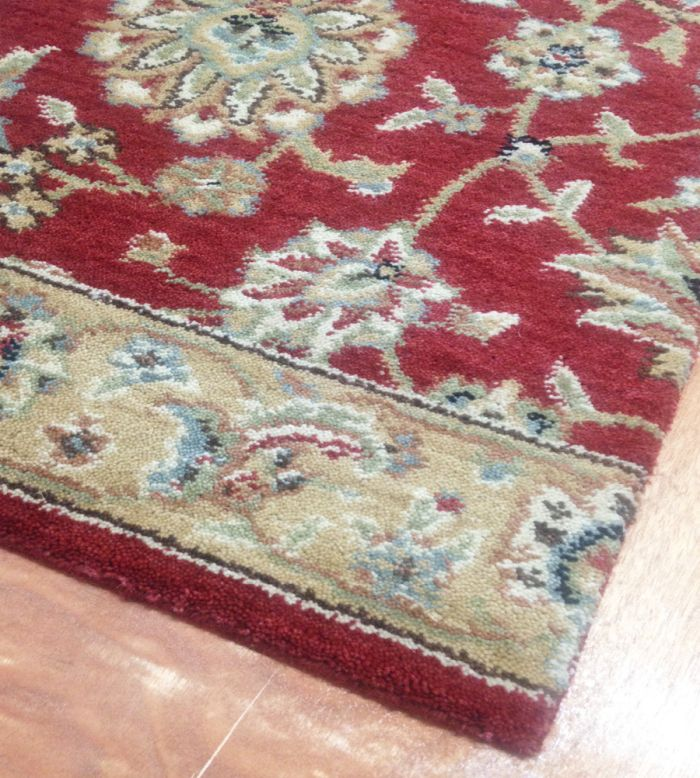 Sultana SU-21 Ruby Traditional Persian Carpet Stair Runner