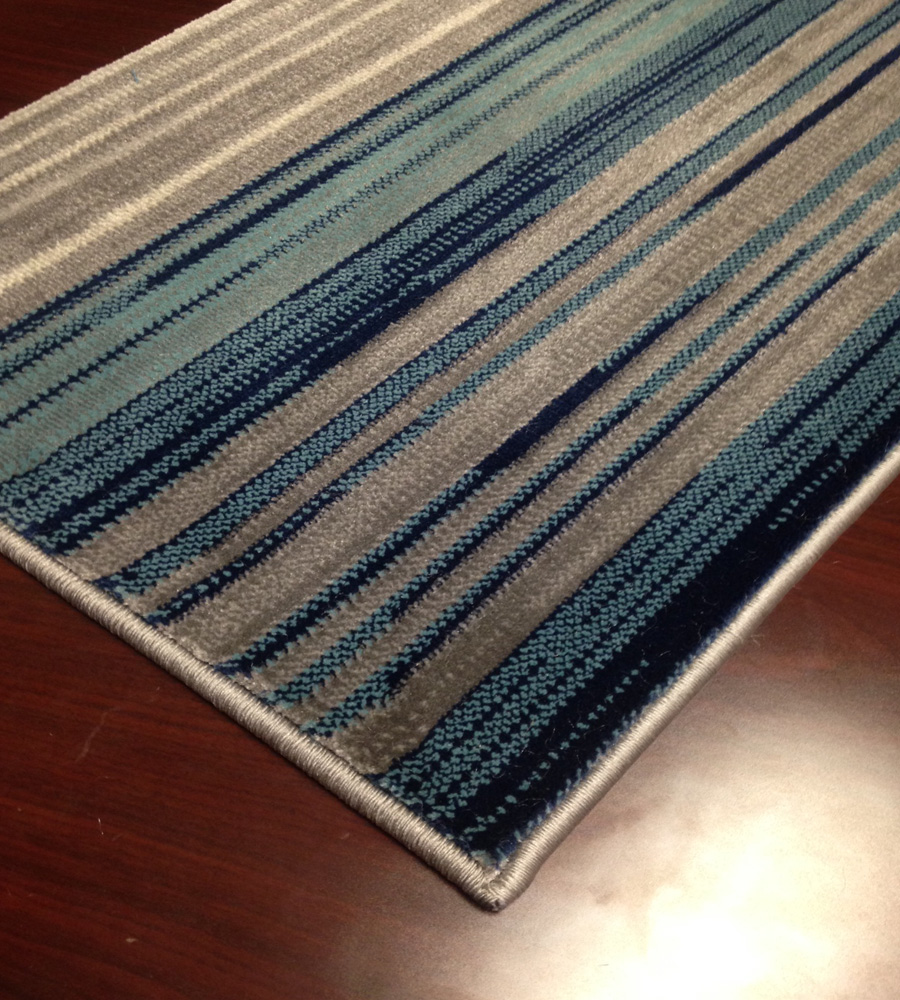Mercury AR15 Blue Hallway and Stair Runner