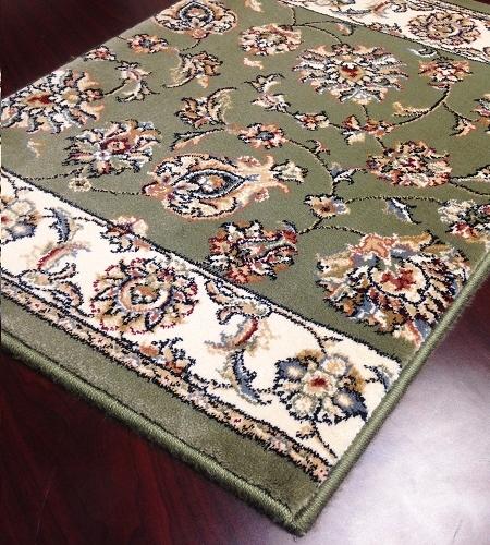 Shadows SHA07 Olive Carpet Stair Runner