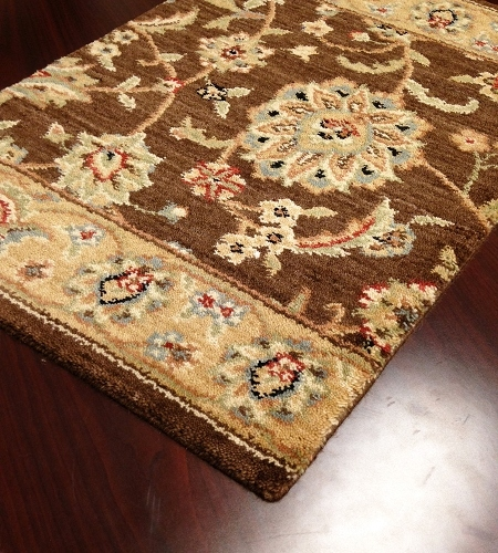Sultana SU-21 Brownstone Traditional Persian Carpet Stair Runner