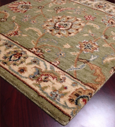 Sultana SU-21 Emerald Traditional Persian Carpet Stair Runner