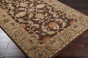 Caesar CAE-1009 Chocolate Rust Rug by Surya