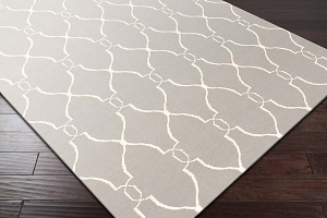 Fallon FAL-1003 Gray Ivory Rug by Surya