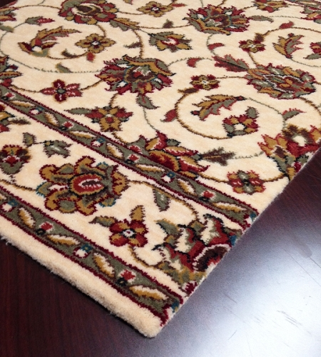 Palace Garden PG-18 Ivory Carpet Stair Runner