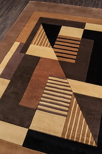Momeni New Wave Contempo NW-06 Gold Rug