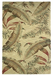 Sparta Ferns 3124 Ivory Rug by Kas