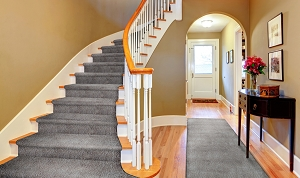 Mohrsville MR-01 Gunmetal Finished Stair & Hall Runner