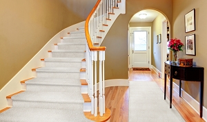 Mohrsville MR-01 Snow Finished Stair & Hall Runner