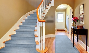 Mohrsville MR-01 Wedgewood Finished Stair & Hall Runner