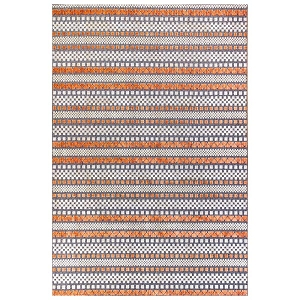 TransOcean Beaux 7347/18 Texture Stripe Sunset Rug