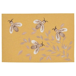 TransOcean Illusions 3289/09 Bees Honey Rug