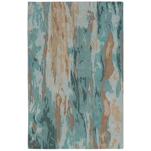TransOcean Liora Manne Corsica 9144/06 Waterfall Patina Rug