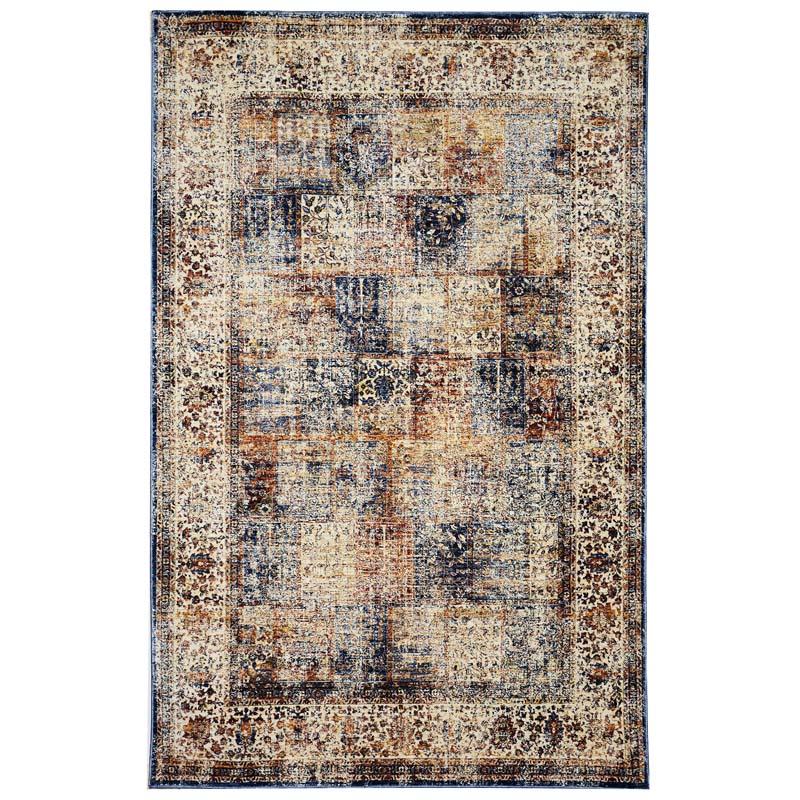 Transocean Dog Rug: TransOcean Liora Manne Palace 8575/12 Antique Panel Ivory Rug