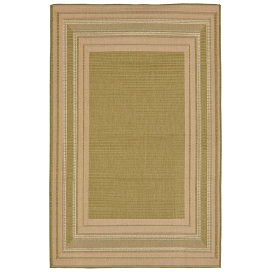 TransOcean Liora Manne Terrace 2761/56 Etched Border Meadow Rug