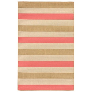 TransOcean Liora Manne Terrace 2762/74 Multi Stripe Sunset Rug